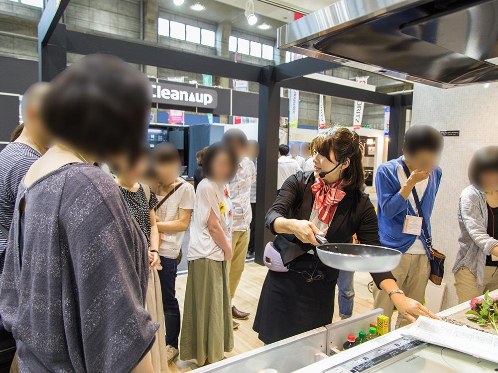 堀井紘子さん会場内ツアー_住まい夢フェア2018