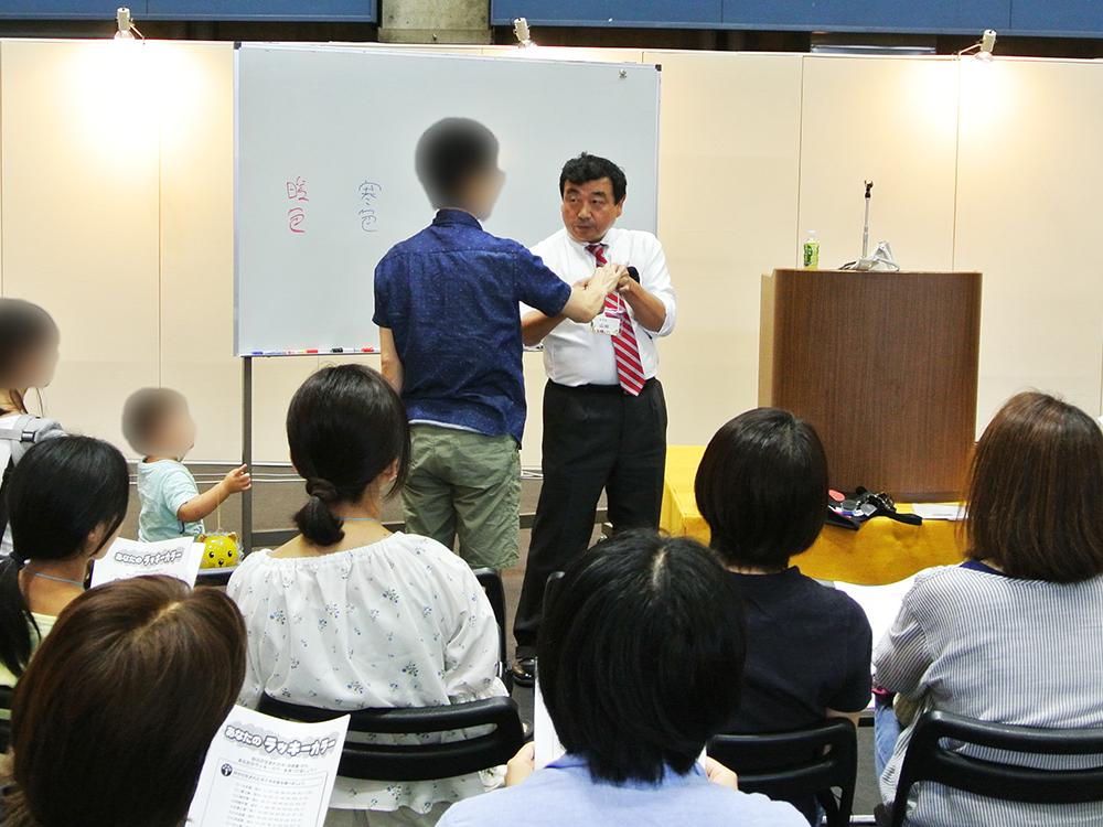 山田のおやじセミナー_住まい夢フェア2019展示相談会